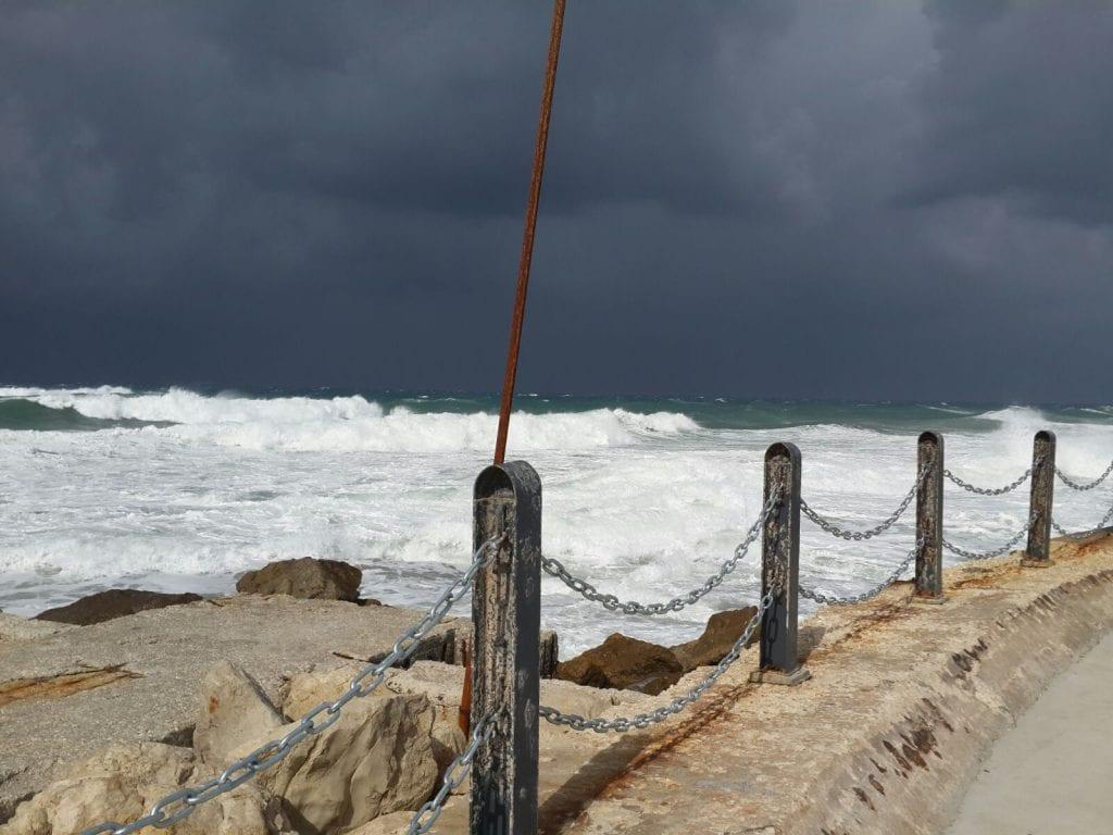 מצב הים מהחוף
