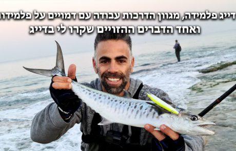 """Lior Kedem: """"דייג פלמידה, סיום אתגר שלשה חודשים, מגוון הדרכות עבודה על דמויים לפלמידות, אחד הדברים ההזויים שקרו לי בדייג מהחוף ודמוי חדש– תהנו!!!"""""""