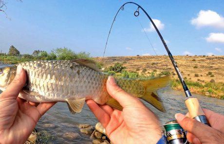"Shraga Milon: ""פתיחת עונת הדיג בירדן ההררי 2021 עם חכה חדשה ואקשן 🐟חג שמח ושקט🙏🏼"""
