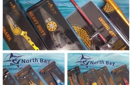 """המפרץ הצפוני: """"מבחר ענק של כלים שכל דייג צריך FRICHY """""""