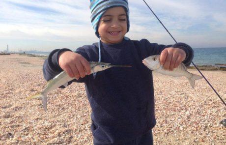 יוני: שבת בבוקר דיג עם השותף הכי טוב שלי