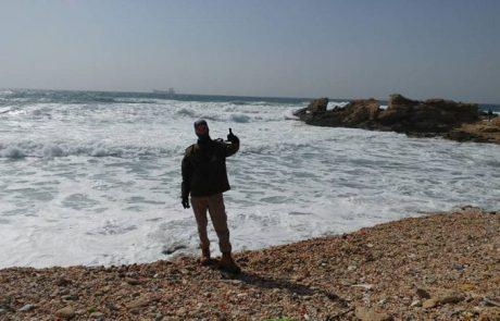 סהר עם עדכון LIVE מהים – קיסריה (11/03/2017)