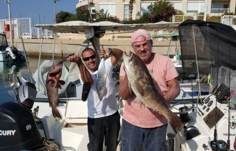 """יוחי ודביר לוחשים לדגים והם מגיבים – לוקוס לבן יפיוף במשקל 6 ק""""ג,פלמידה ,לוקוס ועוד…"""