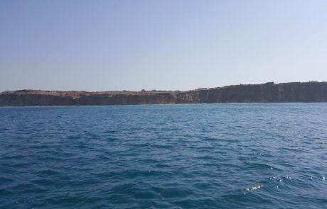 """אורן אבן: """"בימים האחרונים הים רועש ,מלא פסולת יוצאת מהים …"""""""