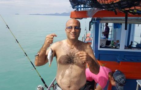 """אלי כדר: """"עוד יום של דייג אבל שהפעם עם חופי תאילנד המהממים """""""