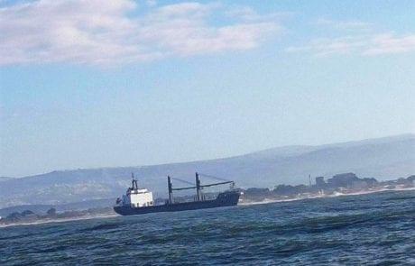 דליפת שמן גריז מהאוניה דיאנה – עדכון מהמשרד להגנת הסביבה