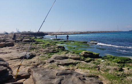 """ערן יצחק: """"כמה חבל ים כזה יפה ובלי דגים אשדוד חברת חשמל מלא דיגיים אבל בלי דגים"""""""