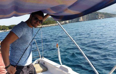 """דדי אזולאי: """"תפיסה נחמדה ביוון עם ציוד פשוט שנרכש במקום"""""""