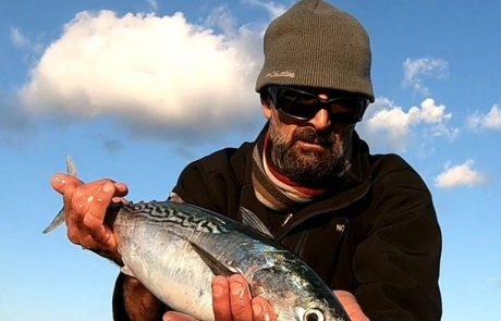 """גיא: """"כמה זריקות ובום גדול, הדג השתחרר (תראו בסרטון ותגידו מה אתם חושבים שזה היה)"""""""