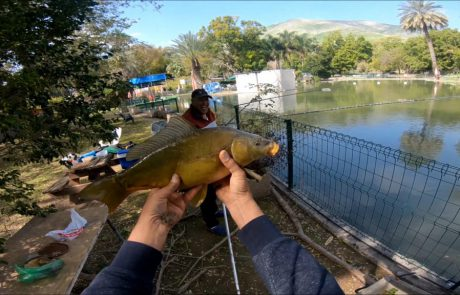 """ליאור גכמן : """"הדגים כבר מבינים שאנחנו פה ומתחילים לשתף פעולה ופה מתחילה החגיגה!"""""""