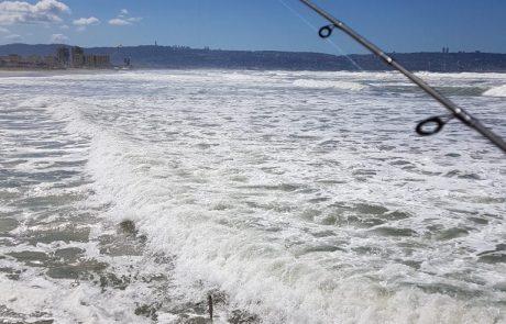 """אבירם פרץ: """"מה אפשר לתפוס בים ממש גבוה וזרמים מטורפים וכמעט שאין בו עומק (המזח בקרית ים מי שמכיר)?"""""""