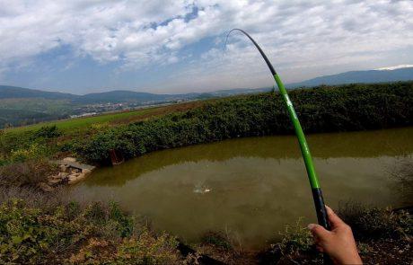 """ליאור גכמן : """"מאושר שתפסתי דג כבר בזריקה הראשונה וממשיך הלאה. ונחשו מה קורה בזריקה השנייה??"""""""