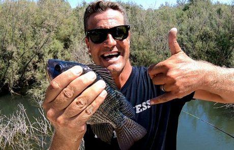 """ליאור גכמן: """"לסיכום,עוד חוויה של דייג עם החברים הטובים"""""""