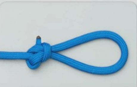 קשר לולאה – Perfection loop knot