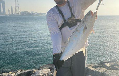 """דניאל צפיר: """"דייג ראשון בדובאי!  וחברים יש דייג מעולה! """""""