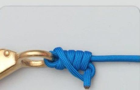 קשר דנקן – The duncan knot- uni knot