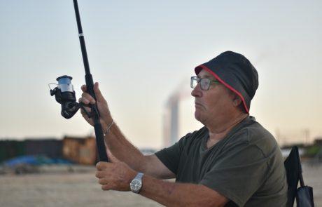 """בנימין: """"שישי בוקר שעה 6 חוף אולגה תפיסת דגים ושחרור חוויה כיפית העברת זמן ורוגע !"""""""