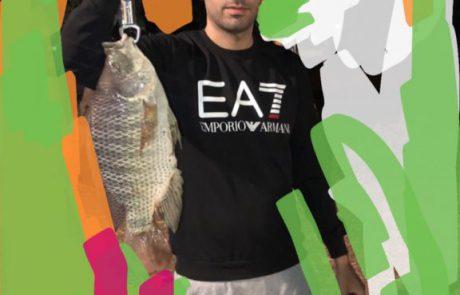 """דיג דגים: """"תפיסת מושט פרהיסטורי בגודל שלא נראה מעולם"""""""