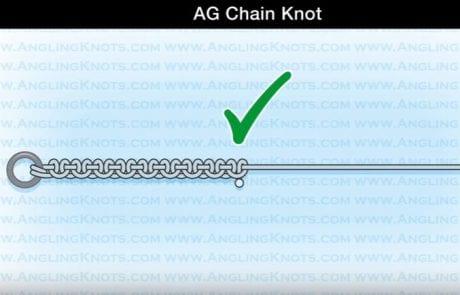 AG Chain Knot – קשירה לדגים גדולים