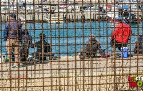 המשטרה עצרה דייגים שהסתננו לנמל אשדוד (אשדוד נט)