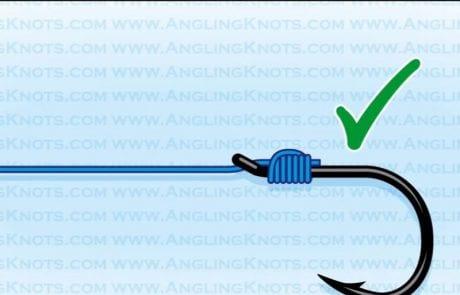 קשירה נוחה לקרס – How to tie the Easy Snell Knot
