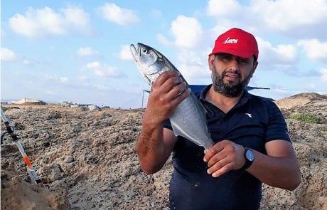 """חאלד טרביה: """"דג ראשון שלי"""""""