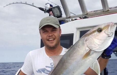 """אלכסיי -אלצ'קו: """"הים לטעמי לא הכי טוב לגיג, אבל פצצה לדייג על חי והופהההה"""""""
