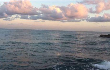 """מירון שמאי: """"בוקר טוב חברים יום שני  מצב הים"""""""