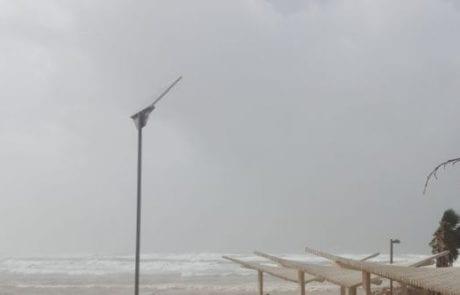 השירות המטאורולוגי הישראלי: אזהרה על ים גבוה ומסוכן לרחצה בים התיכון מ-06/01 ב-21 עד 07/01 ב-09.
