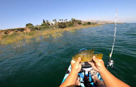 """נפתלי דייג במים מתוקים: """"חמישי שמח חברים יקרים ❤ סרטון על פתיחת עונת הג'יג מקיאק בכנרת."""""""