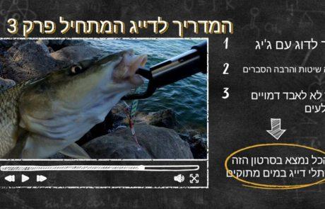 """נפתלי דייג במים מתוקים: """"סרטון הסבר עבור הדייג המתחיל. הסבר מפורט על איך לדוג עם ג'יגים בשיטה טובה"""""""