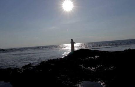 """עמית דה קסטרו: """"סרטון גמר באזרחות כנגד סגירת שמורת ראש הנקרה לדייג"""""""