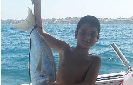 """יריב חי: """"נהרן חי הדור הבא של הדייגים הספורטיבים עם נעילה של גארבידה בשבת בבוקר"""""""
