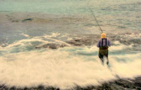 מימון דורון: דיג בחופי ראש הנקרה