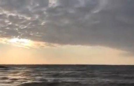"""מירון שמאי: """"המשך שבת מהנה לכולם"""" (מצב הים)"""