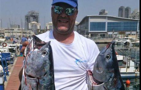 תומר מראה לנו שגם בארץ תופסים דגים גדולים בסלואו פיץ'