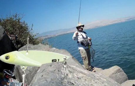 """עמית מלכי: """"איך לדוג בכנרת עם ציקדה, סרטון הדגמה לכמה שיטות טיפים לדיג – How to use Major Craft blade lure in fresh water"""""""