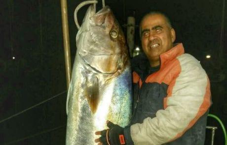"""פרסום ראשון : 47 ק""""ג של שרירים – סמי חקשוריאן עם תפיסת אינטיאס MONSTER GAME בדיג מסירה – אסור לפספס!!!"""