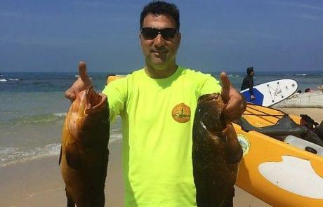 """דורון סופטי: """"יום מטורף של דיג ובריחה אחת"""""""
