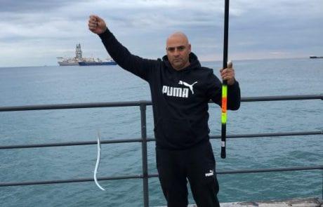 """קובי כהן: """"תפיסת דג בקפריסין לימסול"""""""