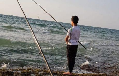 """ליעד אהרון: """"שקיעה ודייג שילוב מנצח. ים שקט , אוויר נהדר ואיך לא גם התפיסות ….(מעודכן עם תמונות )"""""""