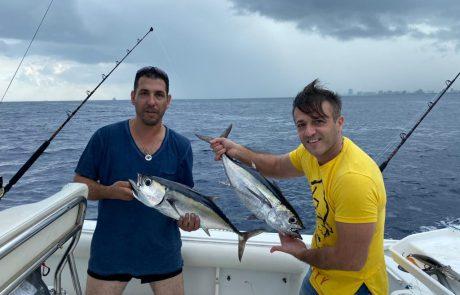 """בני מלאייב: """"דייג טרולינג עם חבר טוב במיאמי eran hazan"""""""