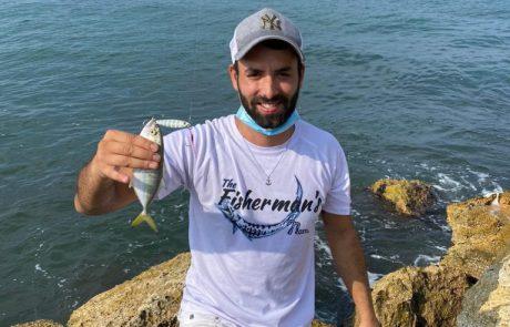 """עמית כהן """"the fisherman'sטרחון רעב הגיע משום מקום .. וקיבלתי נעילה ראשונה על הסט ועל הג'יג סה״כ נחמד מאוד! הדג שוחרר לחופשי !"""""""