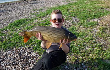 """סאשה: """"יום מוצלח בכינרת בנוסף ניתפסו עוד 7 דגים (קולם קרפיונים) בארך 1-4 קילו."""""""