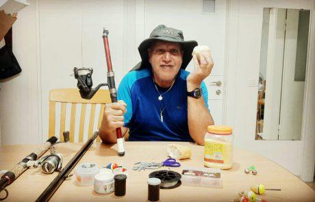 """ליאור גכמן: """"סרטון ההדרכה השני במספר של דדה העוסק בהסברים וטיפים לדייג במתוקים + הכנת בצק"""""""