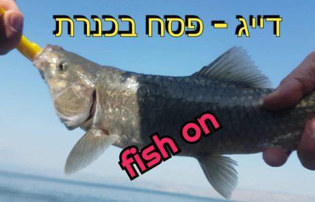 """ליאור בן חיים-דייג: """"יציאת דיג לכנרת היפה"""" – C & R"""