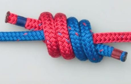קשר דייגים כפול -Double fisherman's knot