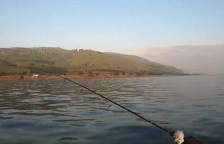 """עמית משני דייגים: """"תכננתי לצאת לדיג קרפיונים, החברים רצו טרולינג, אז הצעתי לצאת לאזור פחות מוכר לטרולינג, וואלה הופתעתי לטובה."""""""