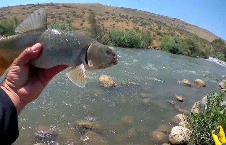 """ליאור בן חיים: """"חווית דיג בנהר הירדן ההררי הרבה אקשן וטבע"""""""