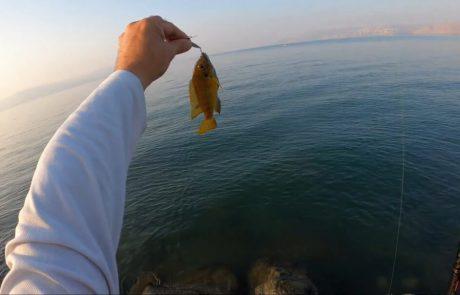 """עמית משני דייגים: """"יציאה קצרה לכנרת, כל כך נהנתי משתף בחוויה"""""""